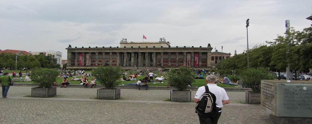 Auf dem Weg ins Museum