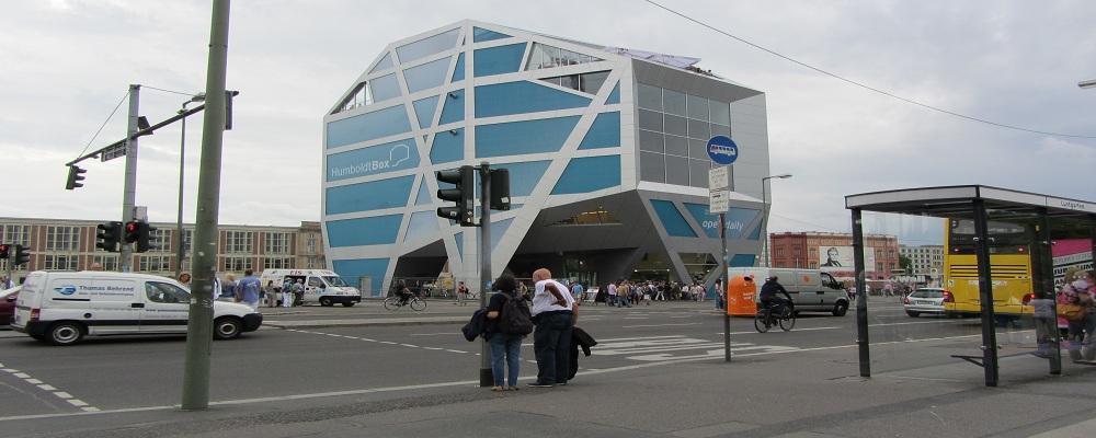 Die Humbold-Box - ein architektonischer Hingucker